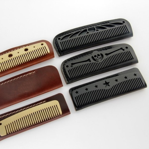 Beard Oil Guide - Pocket Beard Comb